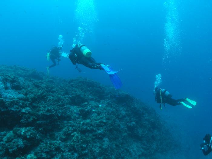 追加ダイビングは、窒素量に気をつけましょう